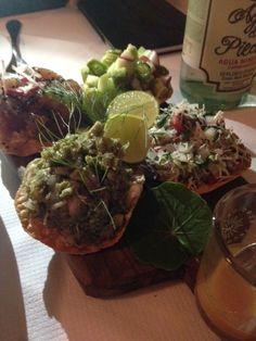 Superb ceviche at Casa Virginia, Mexico City   #Gourmet #Delicious #Ceviche #MexicanFood  http://www.bodosperlein.com