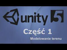 Unity3D 5 | Kurs 1 - teren, drzewa, trawa, tekstury (tworzenie mapy świata) - YouTube