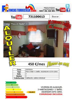 731100613 ALQUILADO 3 hab. 1 baño zona céntrica de Miranda de Ebro http://www.youtube.com/watch?v=8RSJyEfyokw=youtu.be