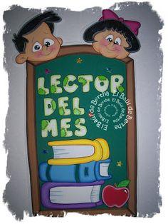 ✿.。.:* BERTHA MANUALIDADES  *.:。✿: Lector Del Mes ..