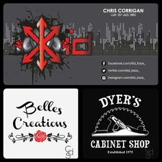Looking for a fresh new logo design? Contact custom@carbendesignstudio.com for more information!