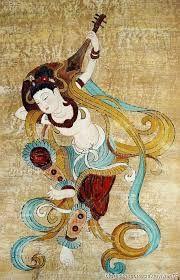 """""""敦煌湿壁画""""的图片搜索结果 Buddhist Architecture, Ancient Music, Dunhuang, Chinese Element, China Art, Buddhist Art, Modern Artists, Chinese Painting, Mythical Creatures"""