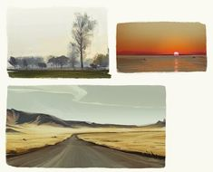 Landscape studies part 2 by loisvb