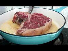 Carne, Steak, Pork, Beef, Youtube, Kale Stir Fry, Meat, Steaks, Pork Chops