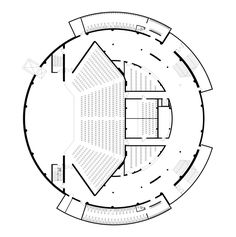 Gallery of Palanga Concert Hall / Uostamiescio projektas - 22 Auditorium Design, Auditorium Plan, Auditorium Architecture, Theatre Architecture, Auditorium Seating, Cultural Architecture, Architecture Concept Diagram, School Architecture, Architecture Plan