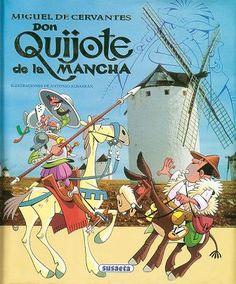 En un lugar de la Mancha de cuyo nombre no quiero acordarme... ¿Quieres saber qué ocurrió? La famosa historia del ingenioso hidalgo Don Quijote de la Mancha a través de un texto ameno especialmente adaptado para que lo disfruten los más pequeños.