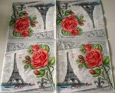 Bonjour Paris 33x33 cm Grey