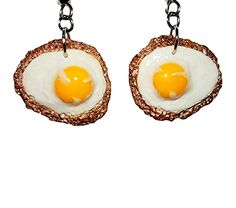 Oh so yummy and cute. These Cooked Egg Earrings are exactly what you're looking for if you want to have additional attention on a brunch date Next Gifts, Kawaii Jewelry, Party Needs, How To Cook Eggs, Polymer Clay Earrings, Gifts For Women, Brunch, Unique Jewelry, Cool Stuff