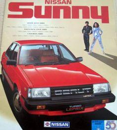 (103) Nissan Sunny B11 Motor Vehicle, Motor Car, Classic Japanese Cars, Classic Cars, Nissan Sunny, Nissan Infiniti, American Motors, Nissan Sentra, Japan Cars