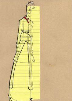 Vivienne Westwood. London Fashion Week. - Isabella Cotier