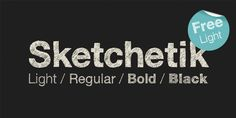 Sketchetik (FREE) by Ossi Gustafsson, via Behance
