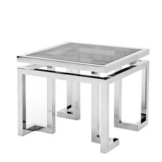 #EICHHOLTZ Side Table Palmer stainless