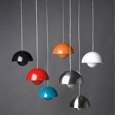 FlowerPot Pendant by &Tradition at Lumens.com