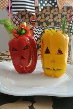 SCARY PEPERONI- halloween recipe for bunnies
