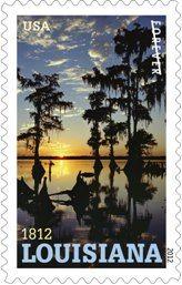 Louisiana's Bicentennial Stamp · http://on.fb.me/PhOnzJ