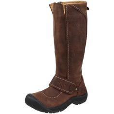 965d0ec75e Keen Women's Kaci High Boot Waterproof Casual Boot leather Rubber sole  Shaft measures approximately from arch Heel measures approximately 1 Boot  opening ...