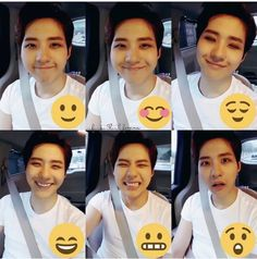 Cnu_ different faces of Shin Dong Woo_ cr on pic
