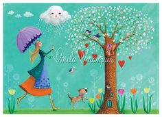 Limited and signed art print by Mila Marquis by MarquisWonderland