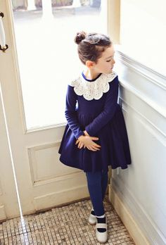 Amber Ecolede Dress #VELUDODEVISCOSESPAN #velvet #fashion #kids #FocusTêxtil