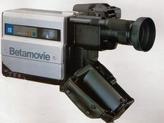 In 1983, Sony produced the first camcorder.