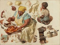 Things of beauty I like to see, Oil studies by Joseph Christian Leyendecker...