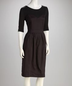 Take a look at this Gray Grand National Dress by Shabby Apple on #zulily today!