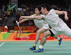韓国ペアと対戦する数野・栗原組 :フォトニュース - リオ五輪・パラリンピック 2016:時事ドットコム