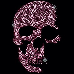 Day of the Dead Pink Neon Sugar Skull T Shirt Womens TANK TOP Shirt Rhinestuds Rhinestonesl 15377