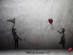 The art of teasing Bansky's art of teasing.