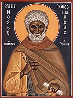 Ethiopian icon of Moses  Check out myOCN.net, the largest Orthodox Christian website in the world, for more Orthodox Christian news!