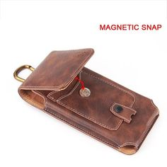 Leather Pouch, Leather Tooling, Tooled Leather, Leather Bags, Phone Holster, Cell Phone Pouch, Leather Projects, Brown Belt, Backpack Purse