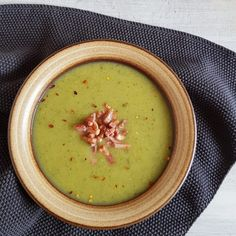Happy Foods, Super Healthy Recipes, Soups And Stews, Tapas, Bacon, Food And Drink, Pumpkin, Yummy Food, Dinner