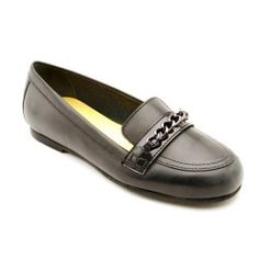 Stroud, Black Leather Girls Slip-on School Shoes http://www.startriteshoes.com/school-shoes/
