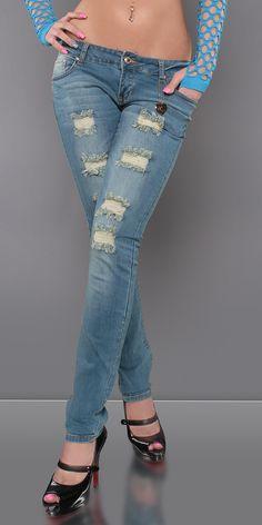 Motehus AS - Jeans - Sissel lyseblå