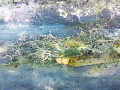 mixed media canvas zee close-up