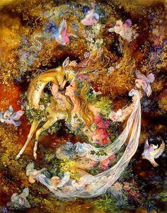 Persian miniature painting Of Master Mahmoud Farshchian Josephine Wall, Persian Culture, Iranian Art, Islamic Art Calligraphy, Calligraphy Alphabet, Celtic Art, Celtic Dragon, Classical Art, Conte