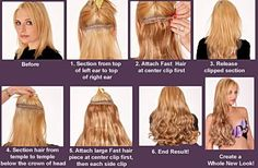 Spanish hair wave clip in extensions clip in hair extensions how to put in clip in hair pmusecretfo Gallery