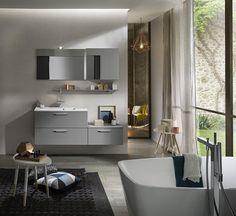 Meuble Salle De Bain En Chêne Blanchi Wood Delpha SDB Pinterest - Meuble de salle de bain delpha pour idees de deco de cuisine