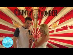 Dolly McCarthy Interviews Cort Carpenter at Country Thunder  #LetMeSeeYourKoozie