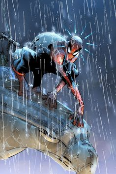 Spiderman, the one superhero superior to batman, since Deadpool was used in a mutation experiment that made Wolverene who he is.