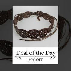 Today Only! 20% OFF this item. Follow us on Pinterest to be the first to see our exciting Daily Deals. Today's Product: Sale -  Leather Rivet Pin Belts Buy now: http://www.urbanforlife.com/products/leather-rivet-pin-belts?utm_source=Pinterest&utm_medium=Orangetwig_Marketing&utm_campaign=Daily%20Flash%20Sales #musthave #loveit #shop #shopping #onlineshopping #photooftheday #picoftheday #love #sale #dailydeal #dealoftheday #todayonly # #fashionstyle #womensfashion #womenswear #womensclothing…