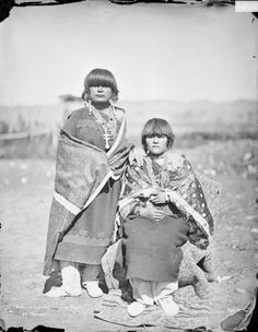 Tesuque women. 1884 #native #americans