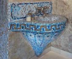 Mosaic tiles are wonderful materials for interior decorating