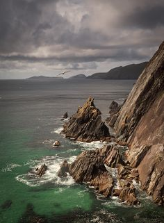 The Dingle Peninsula, Ireland,