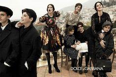 Monica Belucci, Bianca Brandolini and Bianca Balti for Dolce & Gabbana, Fall 2012