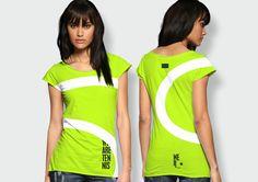 Tennis ball shirt! #tennis