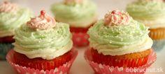 Vanilkové cupcakes s mascarpone krémom