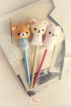 ❤Kawaii Love❤ ~Rilakkuma pencils