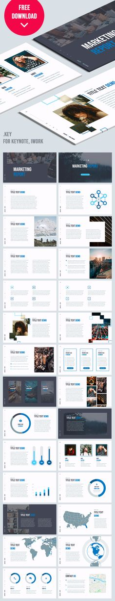 Keynote Marketing plan presentation - 28 Unique slides, retina-ready, easy to edit (only shape), aspect ratio. Free Keynote Template, Ppt Template, Keynote Apple, Professional Powerpoint Templates, Proposal Writing, Aspect Ratio, Marketing Professional, Marketing Plan, Presentation Design