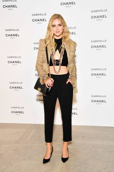 Chiara Ferragni attends the launch party for Chanel's new perfume 'Gabrielle' as part of Paris Fashion Week on July 4 2017 in Paris France